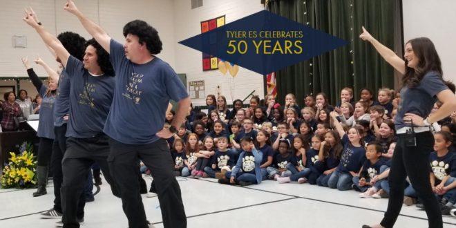Tyler Elementary School, 50th anniversary