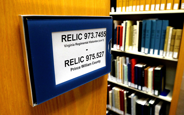 RELIC, PRince William County Libraries