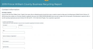 annual recycling report