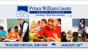 virtual teacher job fair, PWCS