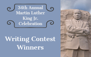 PWCS, writing contest, Martin Luther King Jr