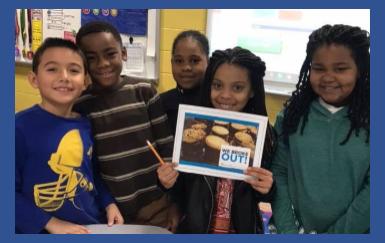 digital breakout, Covington-Harper Elementary School