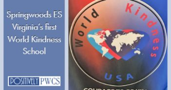 Springwoods Elementary, PWCS, World Kindness School