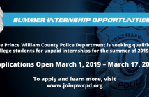 summer internstips, police, Prince William County Police