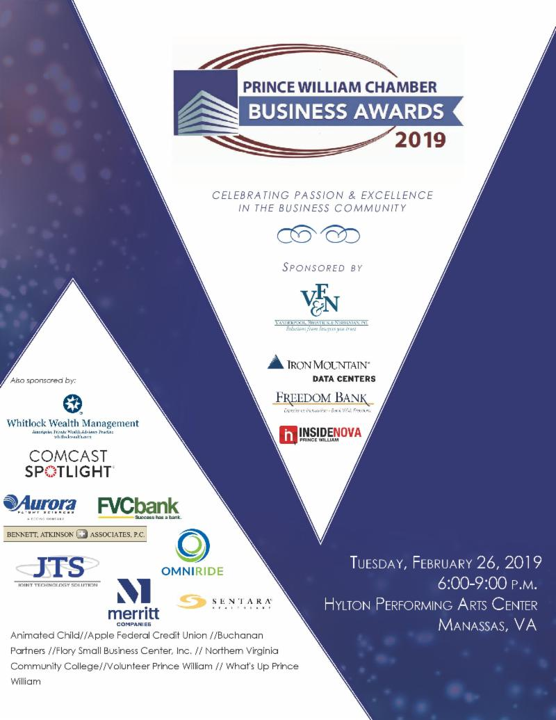 Chamber of Commerce, Business Awards 2019