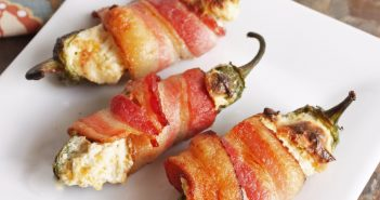 bacon wrapped jalapeno poppers, Firehouse Foodie