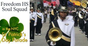 Soul Squad, Freedom High School, NYC St Patricks Parade