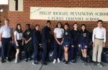 coat drive, Pennington school