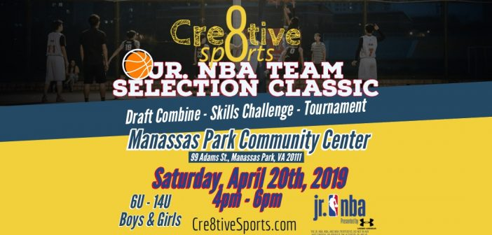 Cr8tive Sports, Jr NBA Tournament
