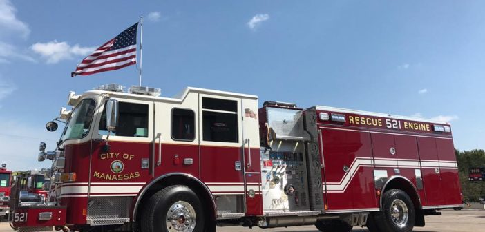 Rescue Engine, ALS, City of Manassas