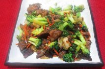 beef teriyaki stir fry, firehouse foodie