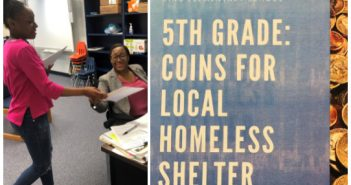 King Elementary, coins for the homeless