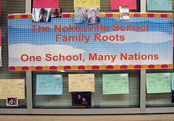 one school many nations, Nokesville School