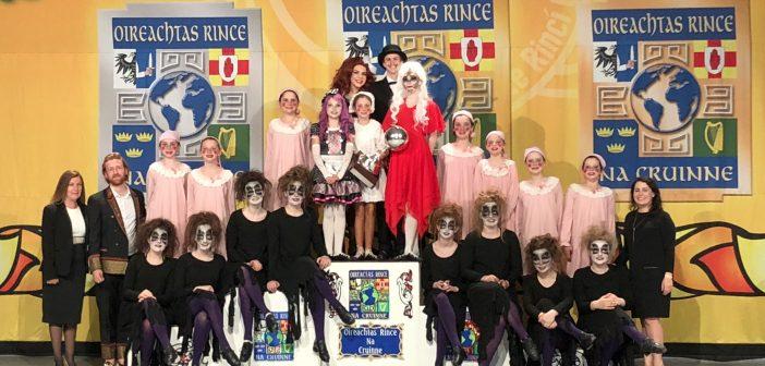 McGrath Morgan adacemy of irish dance, drama team