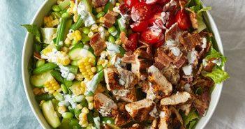 pampered chef, BBQ Chopped Chicken salad