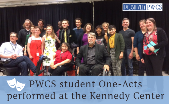 one-acts, Kennedy Center, PWCS, Woodbidge high school