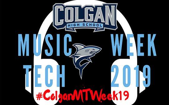 Music tech week, Colgan High School