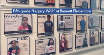 legacy wall, Bennett Elementary