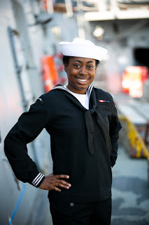 Seaman Apprentice Ifeoma Nwabuoku, US Navy