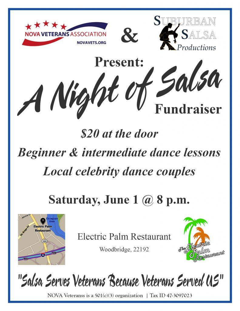 NOVA Veterans, Night of Salsa