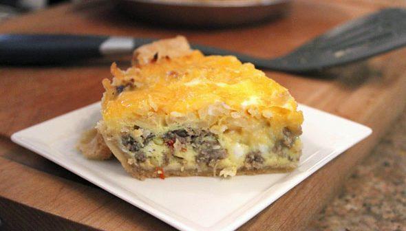 Firehouse Foodie, Breakfast Pie