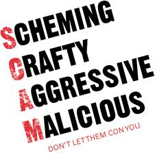SCAMs, police
