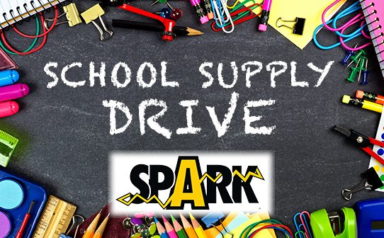 SPARK, PWCS, school supply drive