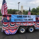 Dale City parade, 4th of July, Masroor Mosque
