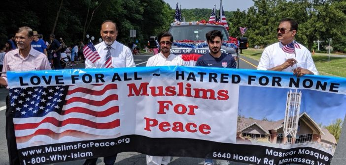 Masroor Mosque, 4th of July parade
