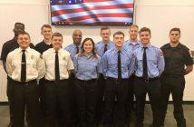 fire & rescue, volunteer recruit graduation