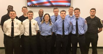 fire & rescue, volunteer recruit graduation