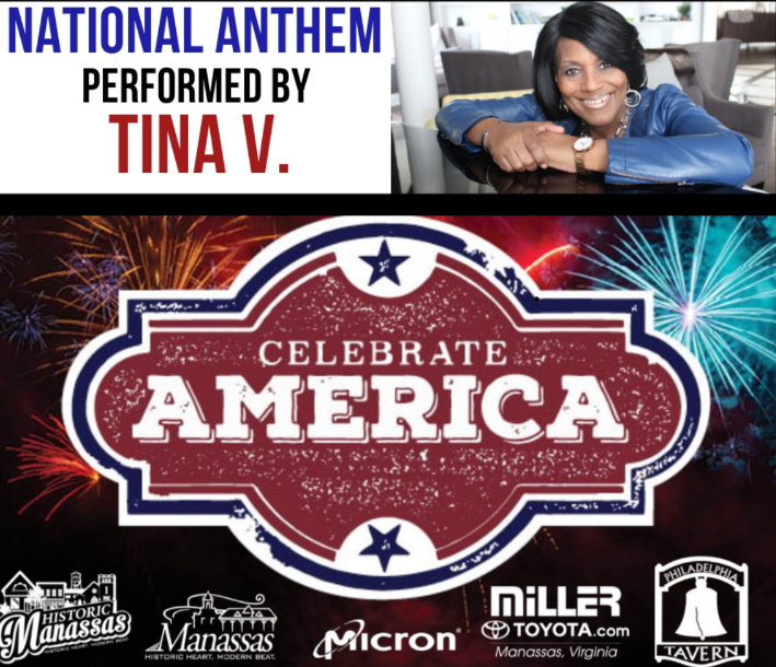 Tina V, national anthem, 2019