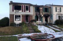 townhouse fire in Woodbridge