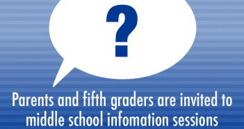 middle school info sessions