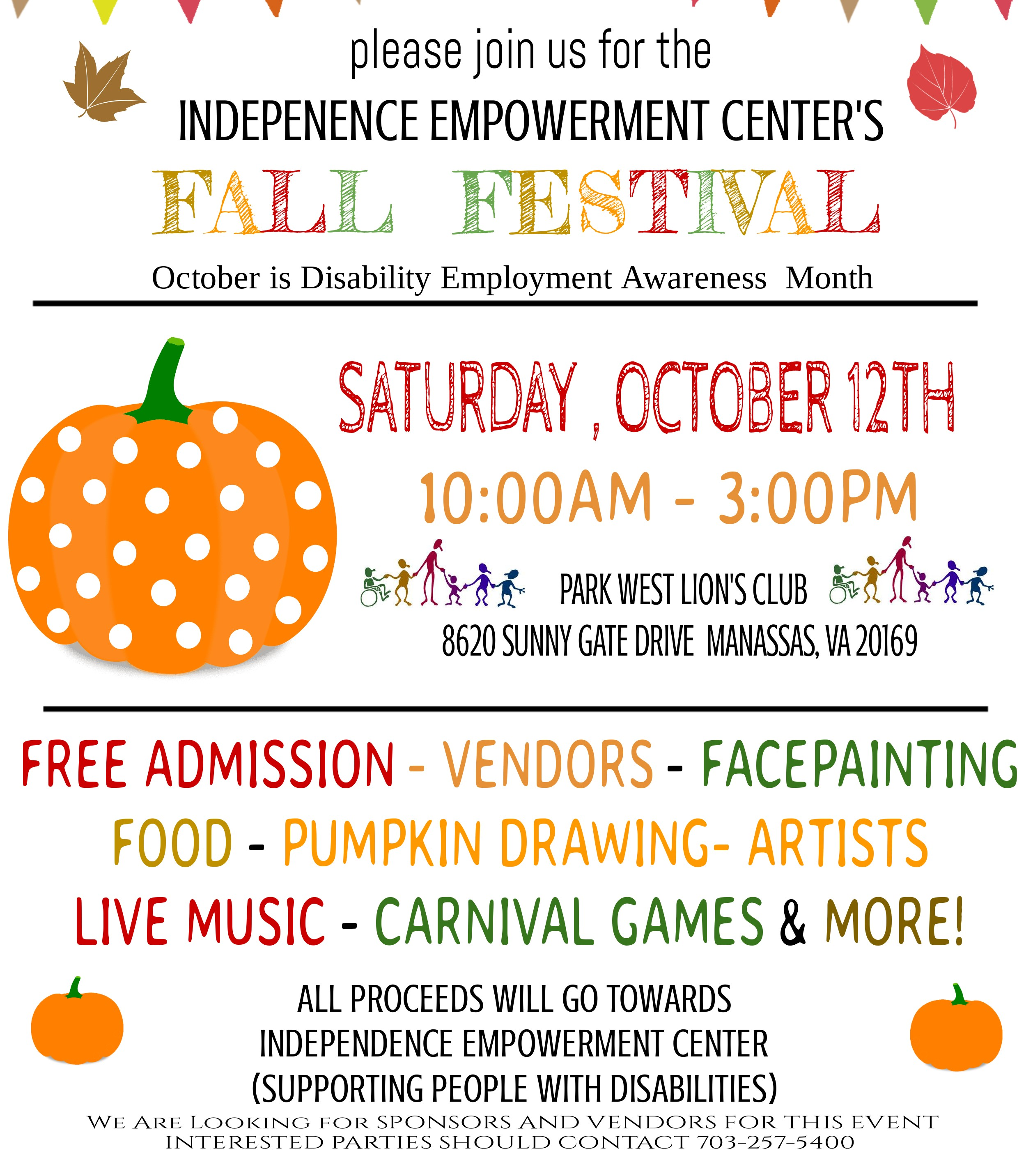 Independence Empowerment Center Fall Festival