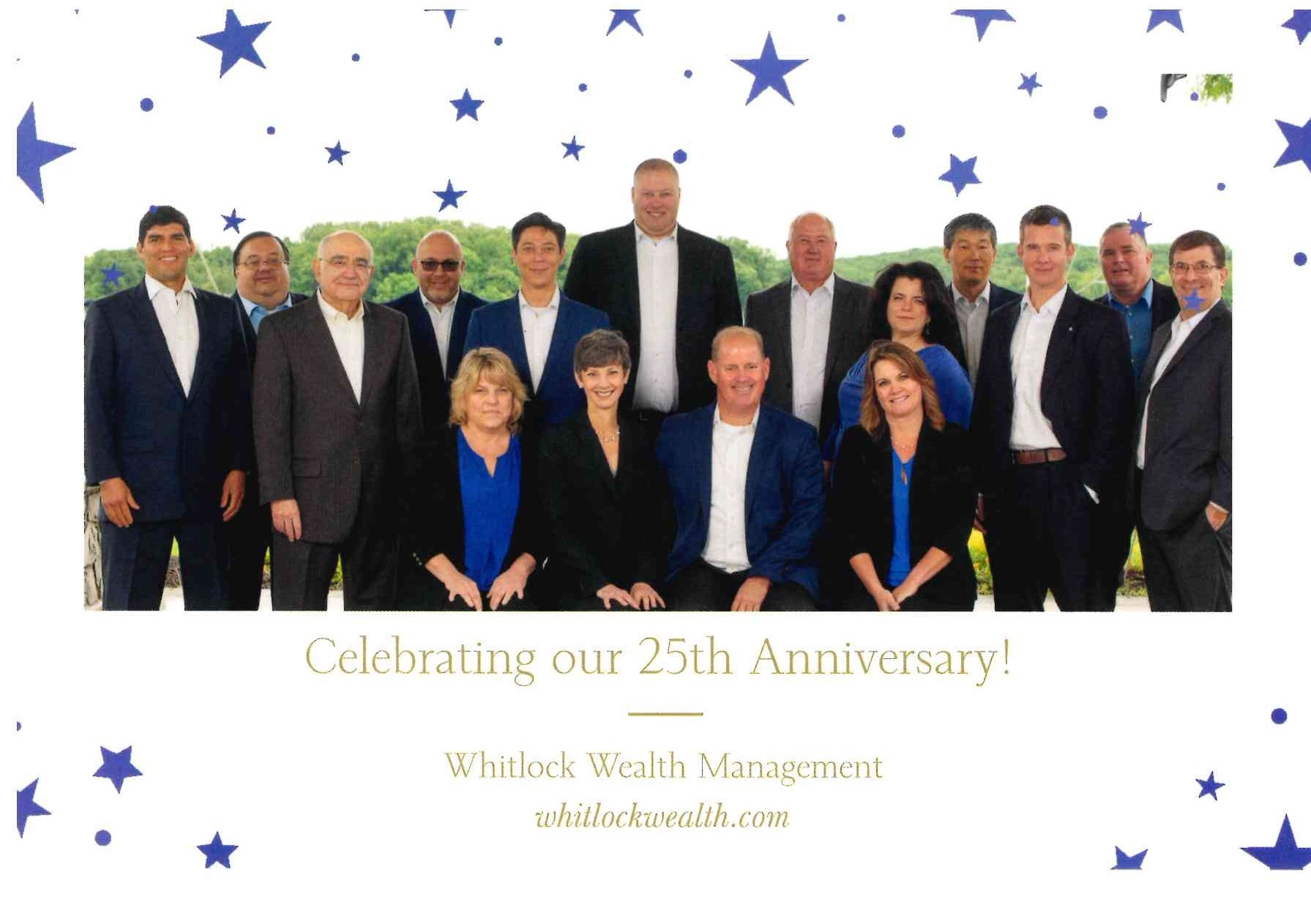 Whitlock Wealth 25th anniversary