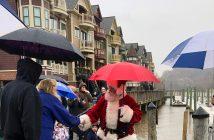 WinterFest, Occoquan, Santa