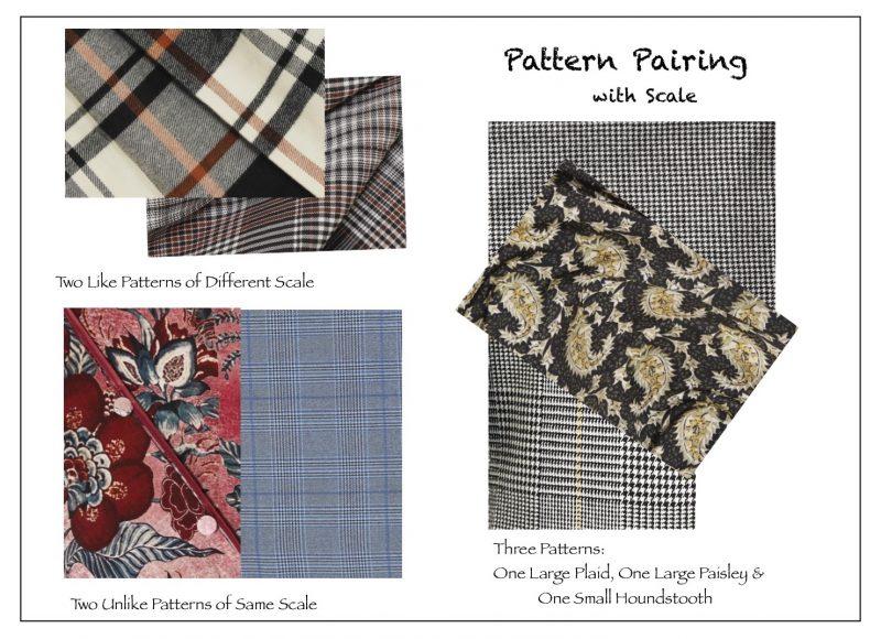 pattern pairing, fashion