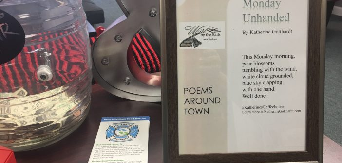 high note 0120, poetry around town, write by the rails