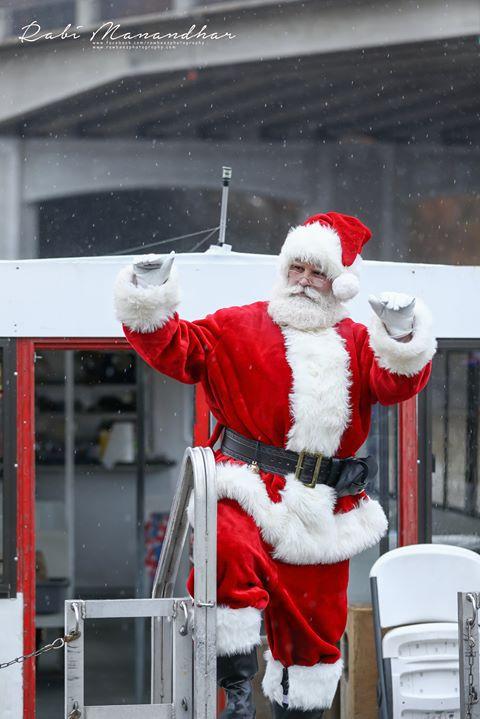 Santa, Occoquan, Winterfest