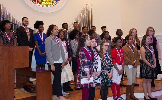 MLK Oratorical contest