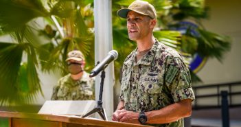 Woodbridge native assumes command