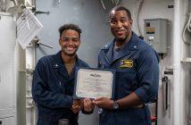 US Navy, ESWS pinning