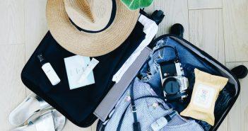 travel, packing, fashion