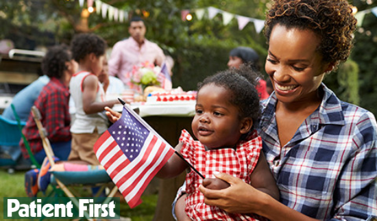 Patient First, 4th of July