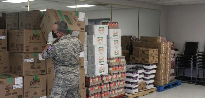 CIvil Air Patrol, food distribution
