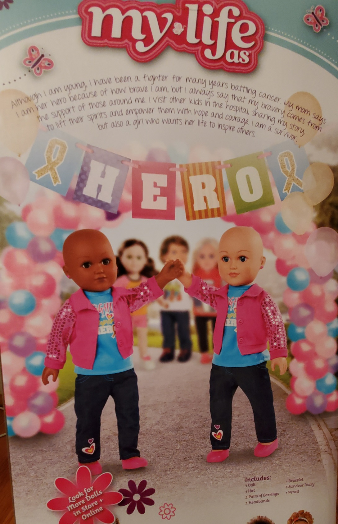 Bald and Beautiful Campaign Donates Dolls to Little Girls Going Through Cancer