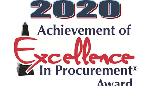 PWCS, Excellence in Procurement