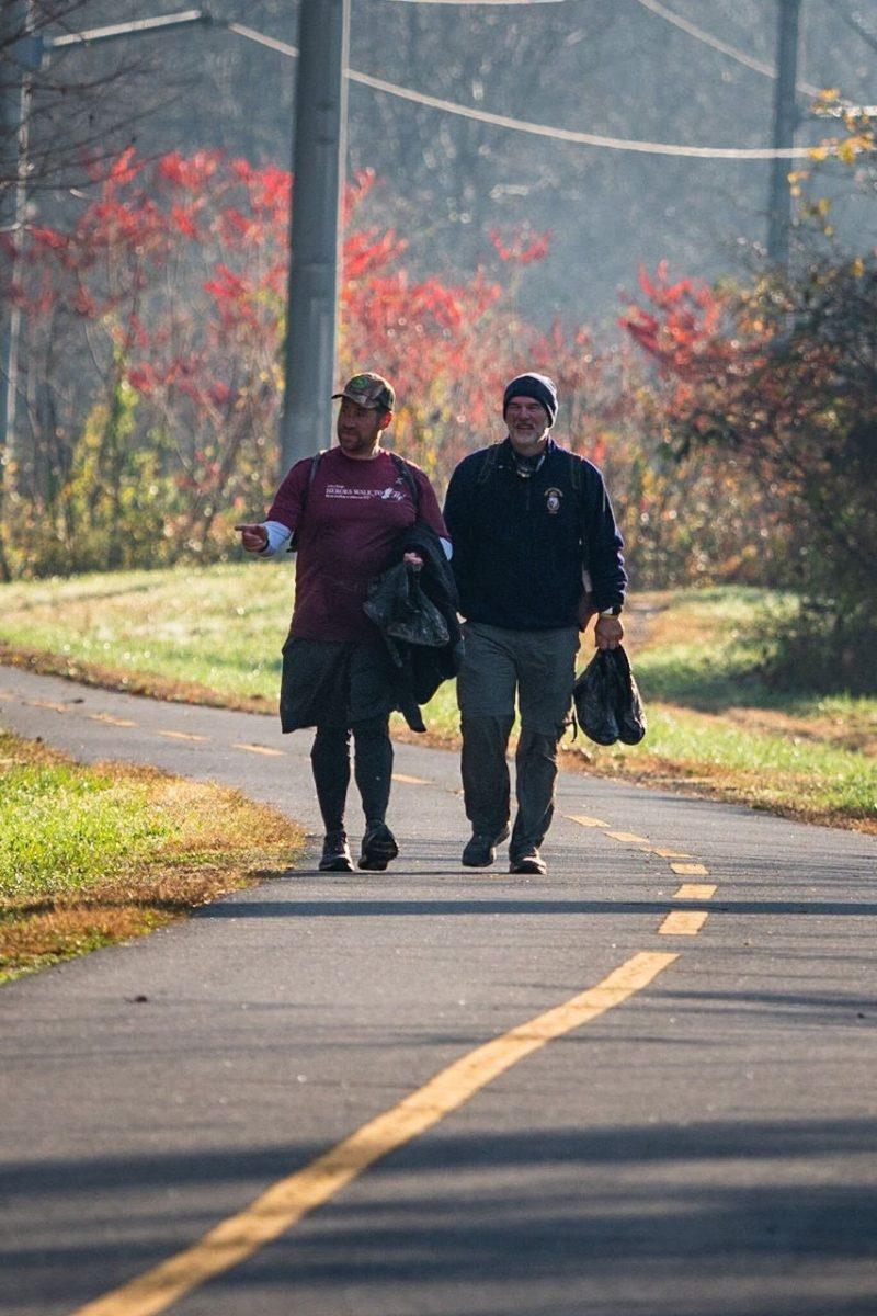 Octo, brain cancer, walk Appalachian Trail