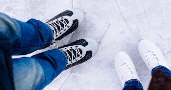 ice skater feet